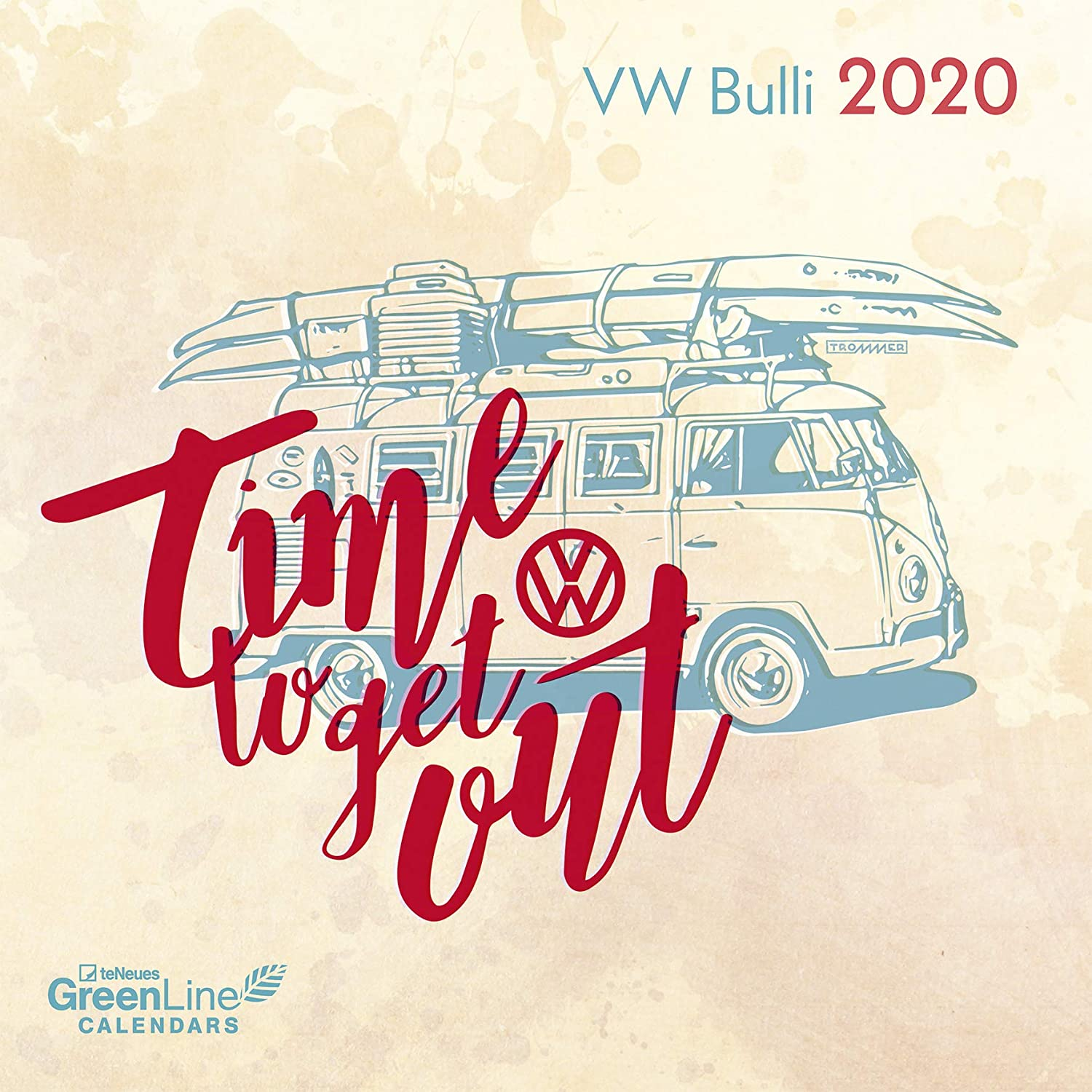 Calendario 2020 Eco RESPONSABLE Combi VW - Camper- Combi VW ...