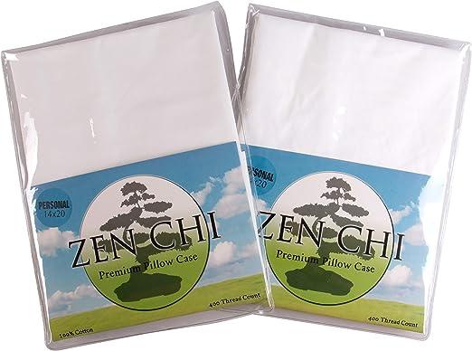 Zen Chi - Funda de almohada de algodón orgánico con 400 hilos ...