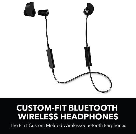Decibullz - Auriculares inalámbricos con Bluetooth Personalizables, los Primeros Auriculares inalámbricos/Bluetooth Moldeados Personalizados
