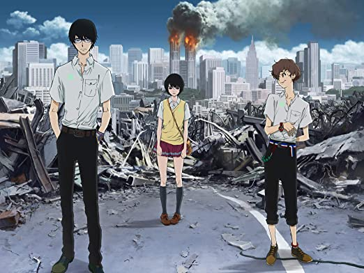 Anime Zankyou no Terror Scroll Wall poster cosplay 2646