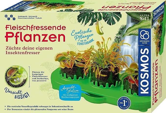 Kindergewächshaus - Kosmos fleischfressende Pflanzen