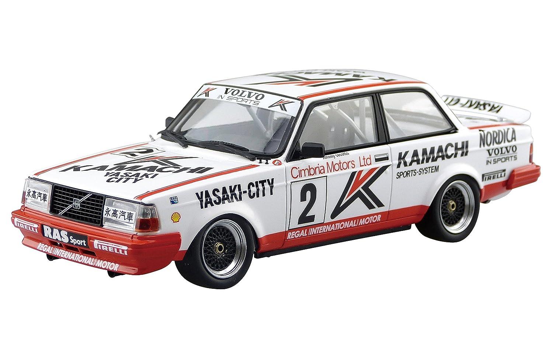 Amazon.com: Аoshima Вunka Κyozai Ѕkynet 1/24 ВEEMAX series Νo.16 Ⅴolvo 240 turbo 1986 Мacau gear race winner specification plastic model: Toys & Games