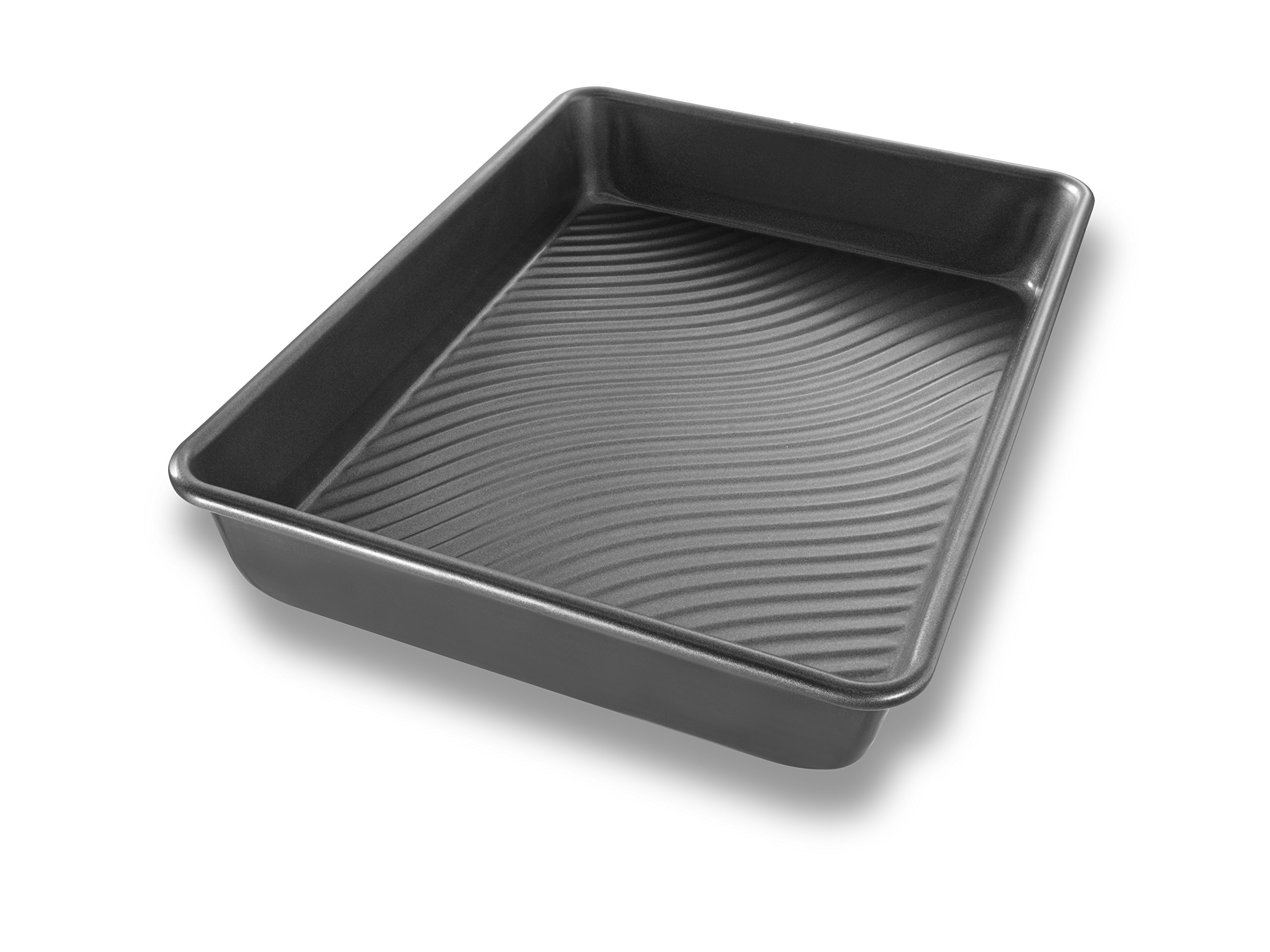 USA Pan Patriot Pan Bakeware Aluminized Steel Rectangular Cake Pan