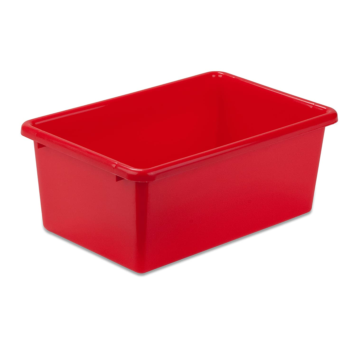 Great Amazon.com: Honey Can Do PRT SRT1602 SMRED Plastic Storage Bin, Small, Red:  Home U0026 Kitchen