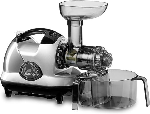 Kuvings NJE 3580U Masticating Slow Juicer, Silver