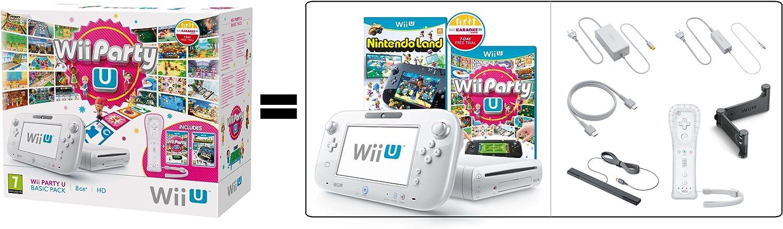 Nintendo Wii U - Consola Básica + Party U + Nintendo Land: Amazon.es: Videojuegos