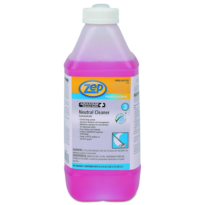 Advantage +濃縮中性床クリーナー、2lボトル、4 / CT、1カートンとして販売、4各1カートン B01B7FJNAO
