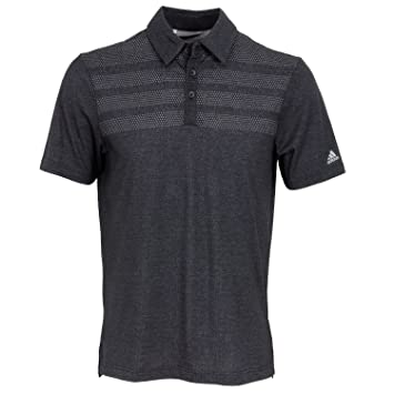Adidas 2017 Men's Golf 3 Stripes Mapped Performance Polo