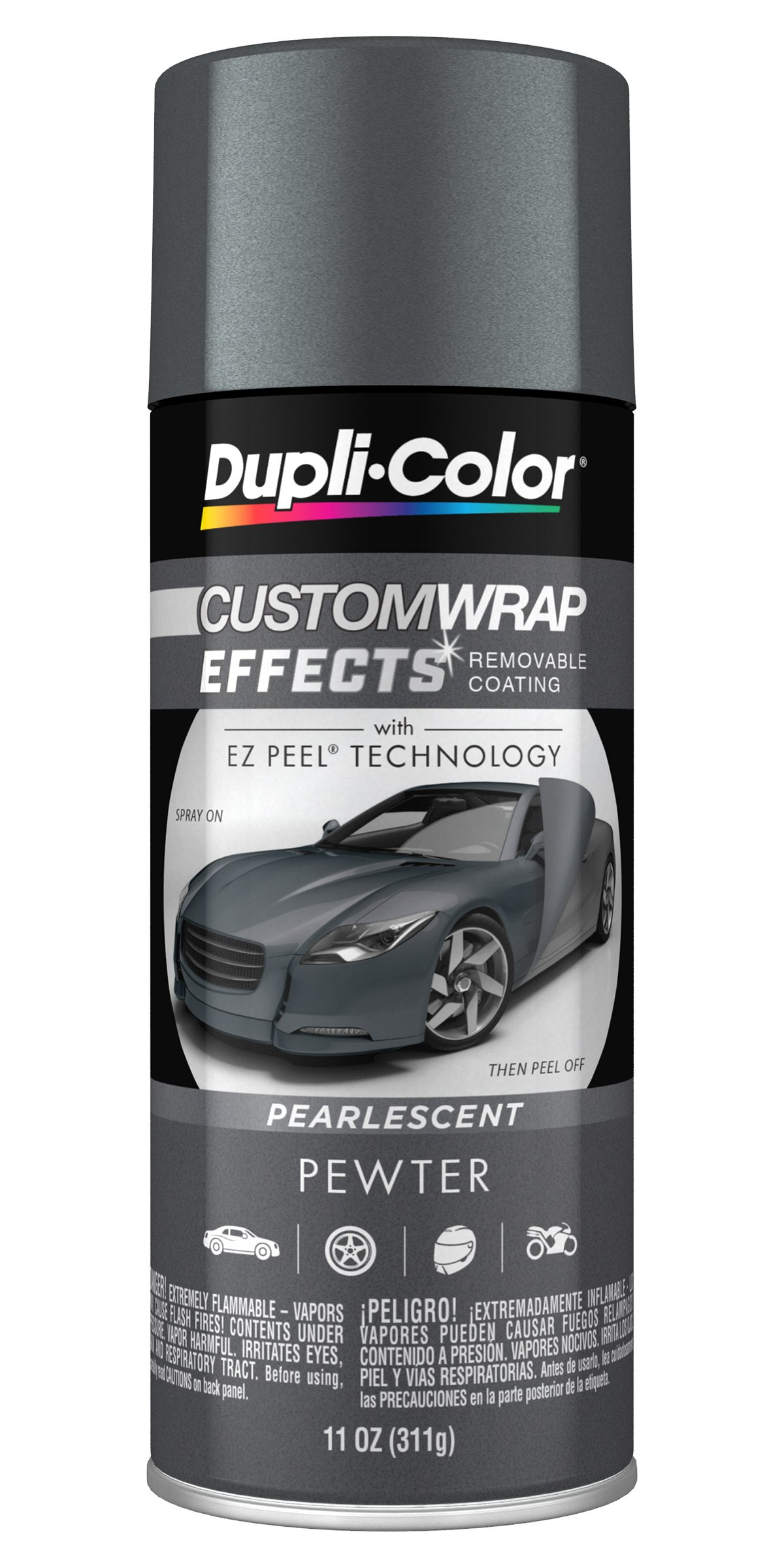 Dupli-Color ECWRC8187 Custom Wrap Effects  Pewter