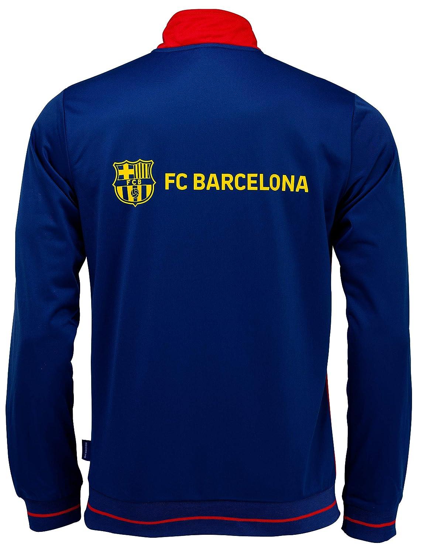 Fc Barcelone Chaqueta de Entrenamiento con Cremallera Barça ...