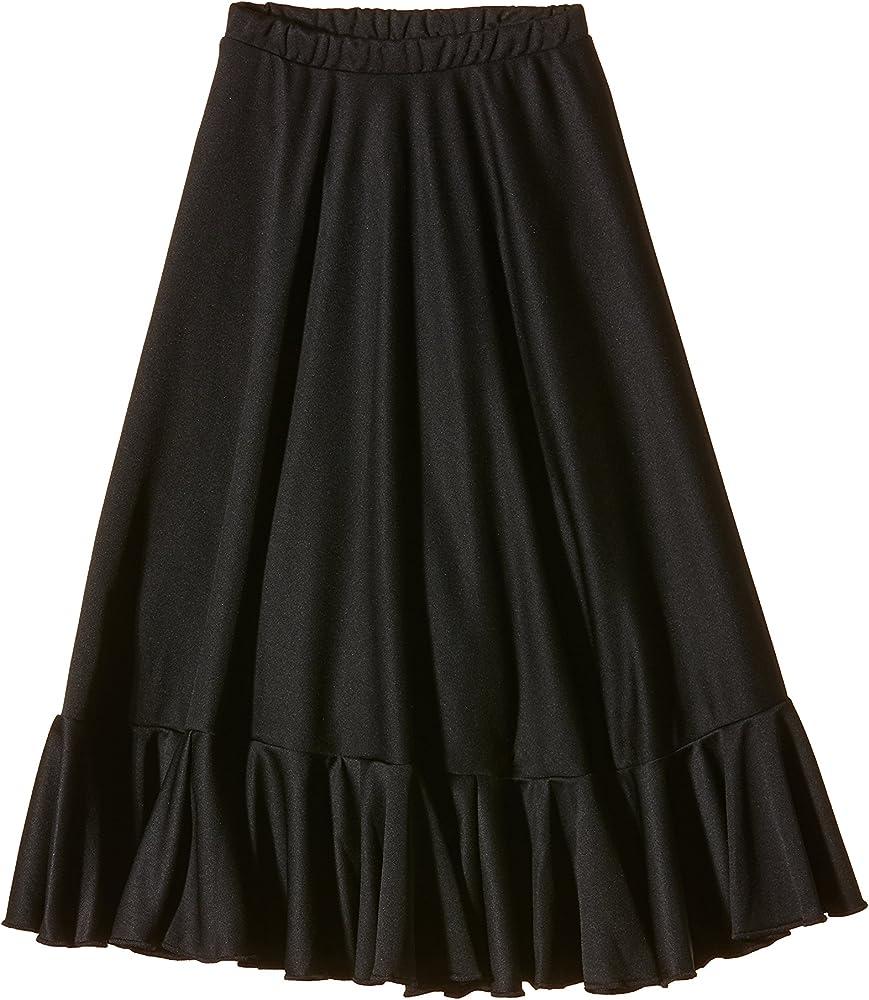 Happy Dance EF008 - Falda de flamenco para niñas, color negro ...