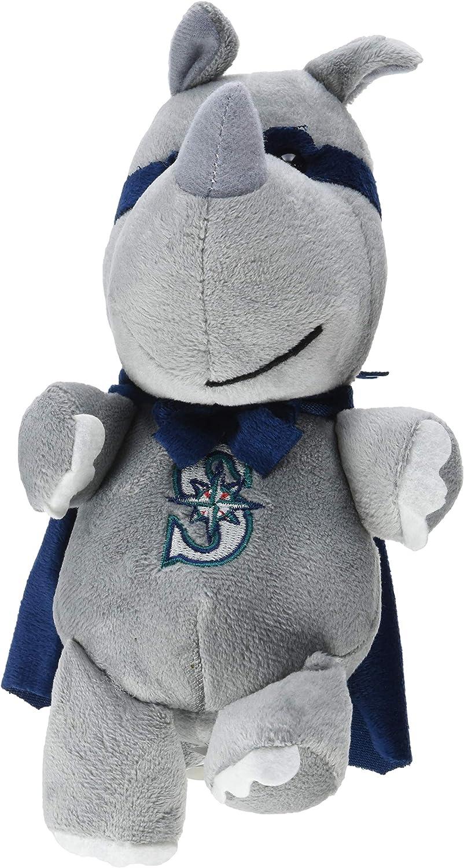 FOCO MLB Seattle Mariners Superhero Plush Rhinoceros