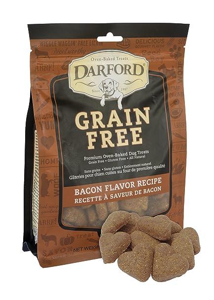 Darford - Grain Free Bacon Recipe Dog Treats, 12Oz Pouch
