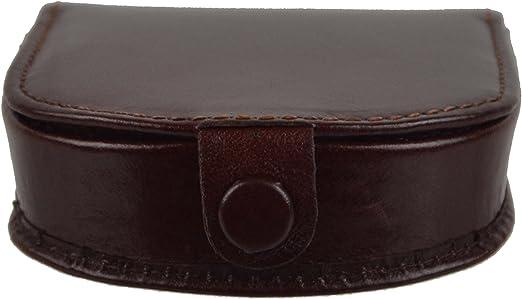 collection Monza avec coffret cadeau Marron marron Pochette /à monnaie classique en cuir pour homme par Visconti