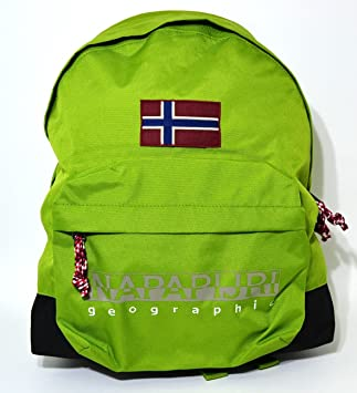 Napapijri geographic American Hack Backpack Piquant Green Green   Amazon.co.uk  Office Products