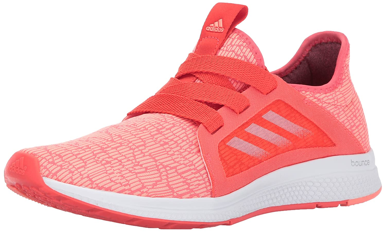 adidas Women's Edge Lux W Running Shoe B01N686SU0 5 B(M) US Easy Coral/Sun Glow/White