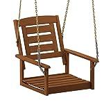 Furinno FG18414SC Tioman Porch Swing, 1-Seater
