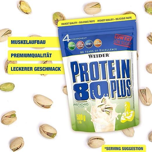 Weider Protein 80 Plus, Proteina de suero de suero de leche ...