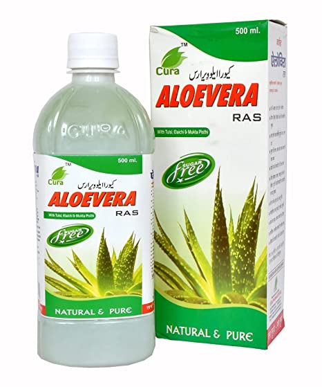 Buy Cura Aloevera Ras Online at Low Prices in India - Amazon in