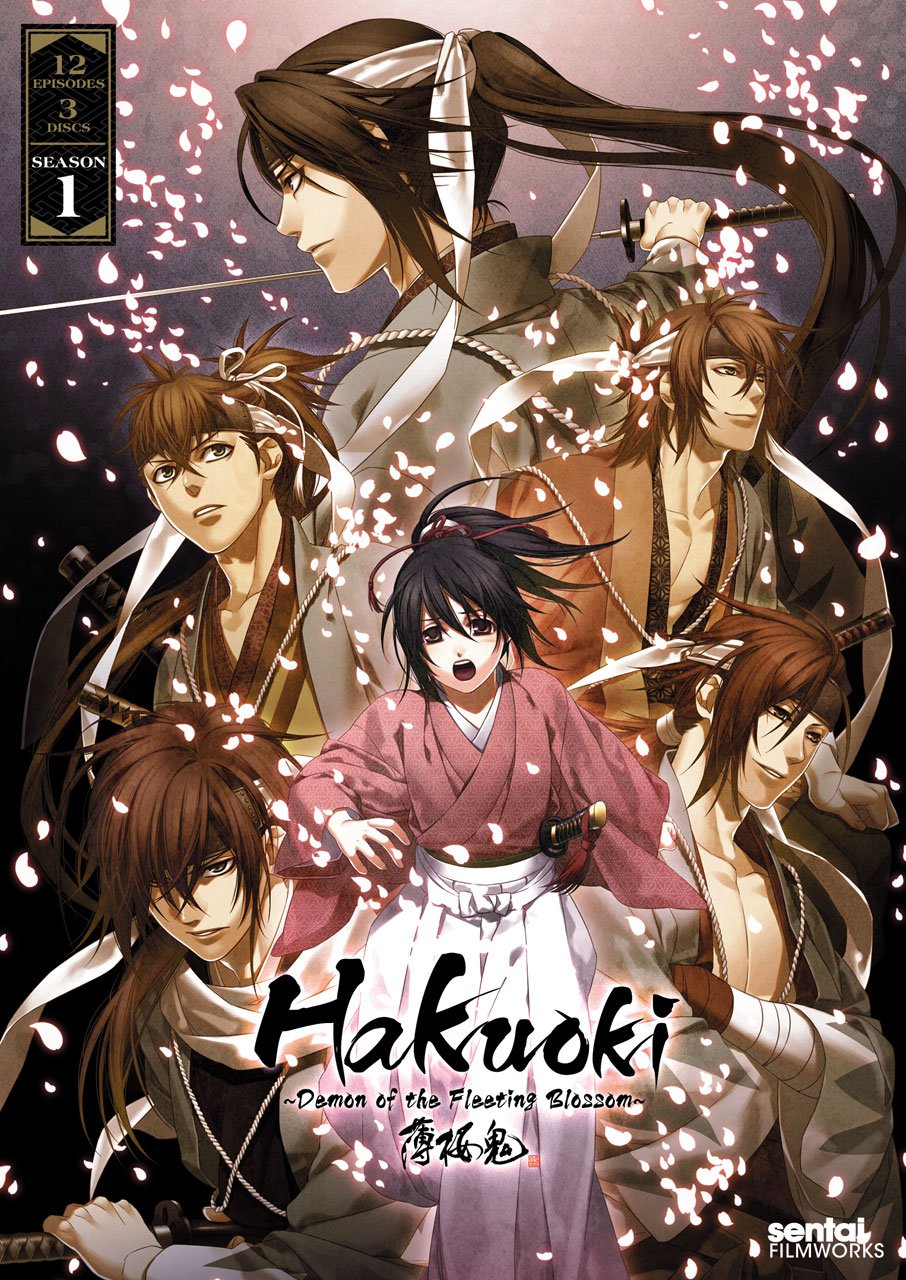 Hakuoki ~Demon of the Fleeting Blossom~ DVD (Dual Audio)