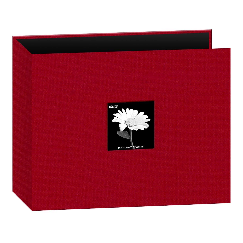 Pioneer - Álbum (30,5 x 30,5 cm, Tela, 3 Anillas, Rojo ...