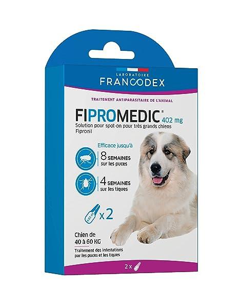 FIPROMEDIC 402 MG solución para Spot-on para Muy Grandes Perros – 2 pipetas para