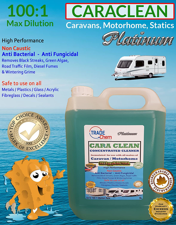 CaraClean Detergente per roulotte e camper con biocidi 1: 100 Trade Chemicals