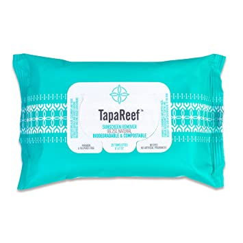 Image result for tapareef sunscreen remover wipes