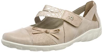 Remonte Damen R3428 Geschlossene Ballerinas
