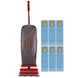 Oreck Commercial Professional Upright Vacuum Cleaner U2000RB1
