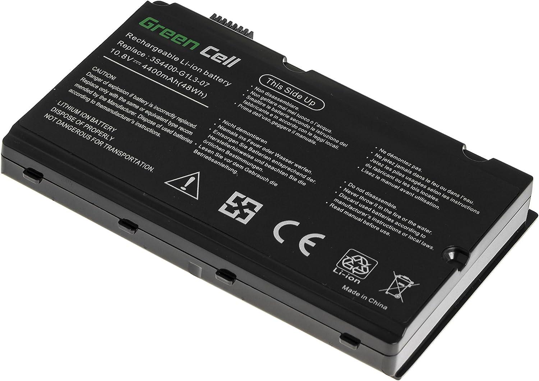 Computer & Zubehr Laptop-Akkus 6 Zellen 4400mAh 10.8V Schwarz ...