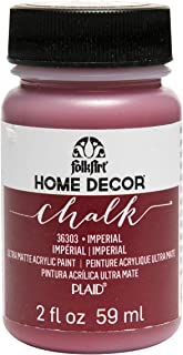 product image for FolkArt 36303 Home Decor Chalk Furniture & Craft Paint in Assorted Colors, 2 ounce, Imperial