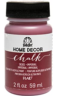 FolkArt Home Decor Chalk Furniture U0026 Craft Paint In Assorted Colors (2 Oz),