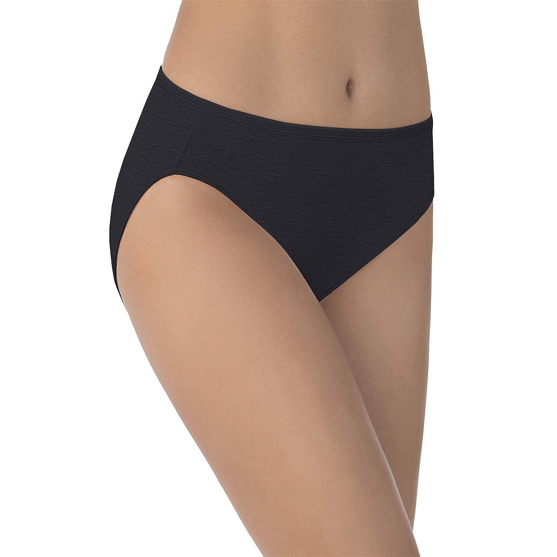 5248cdf99b2 Vanity Fair Body Shine Illumination Hi-Cut Brief Panty  Amazon.in  Clothing    Accessories