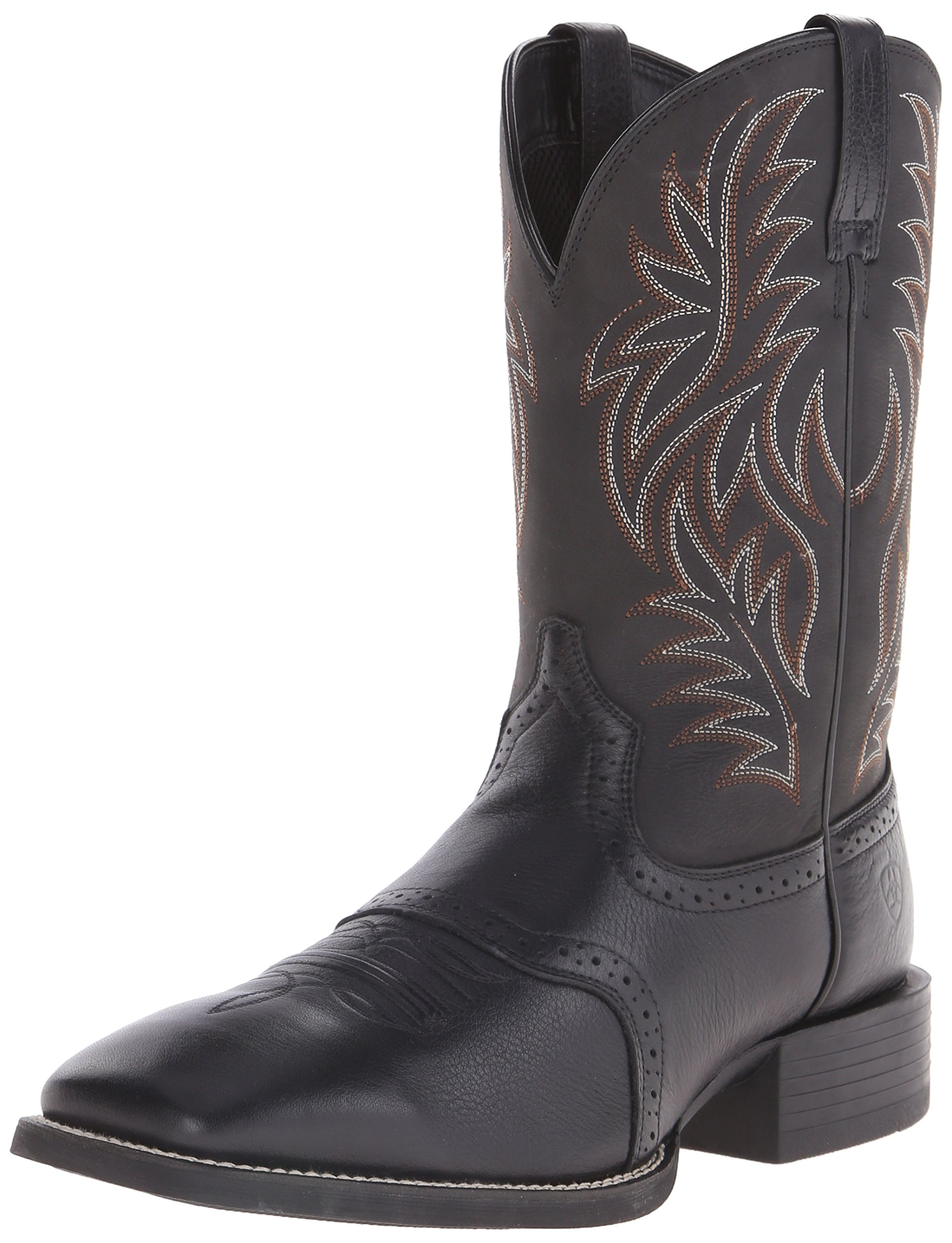 Ariat Men's Sport Western Cowboy Boot, Black, 12 D(M) US