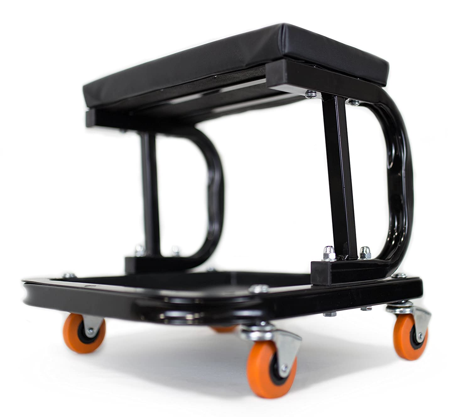 250 Pounds Rolling Mechanic Work Stool Adjustable Creeper