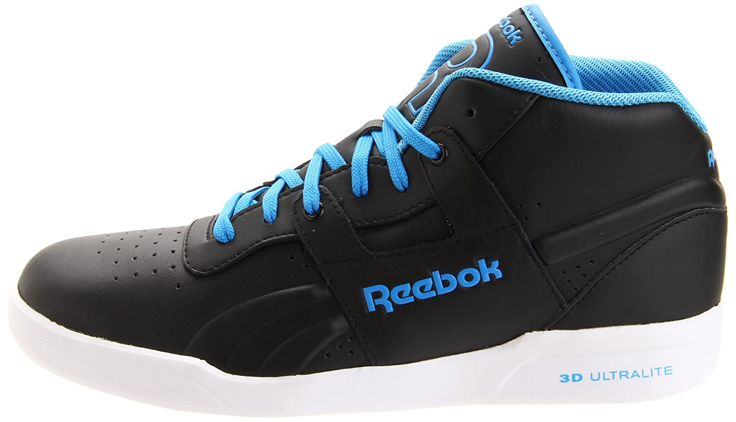 Amazon.com | Reebok Mens Workout Mid Ultralite LTR Sneaker | Fashion Sneakers