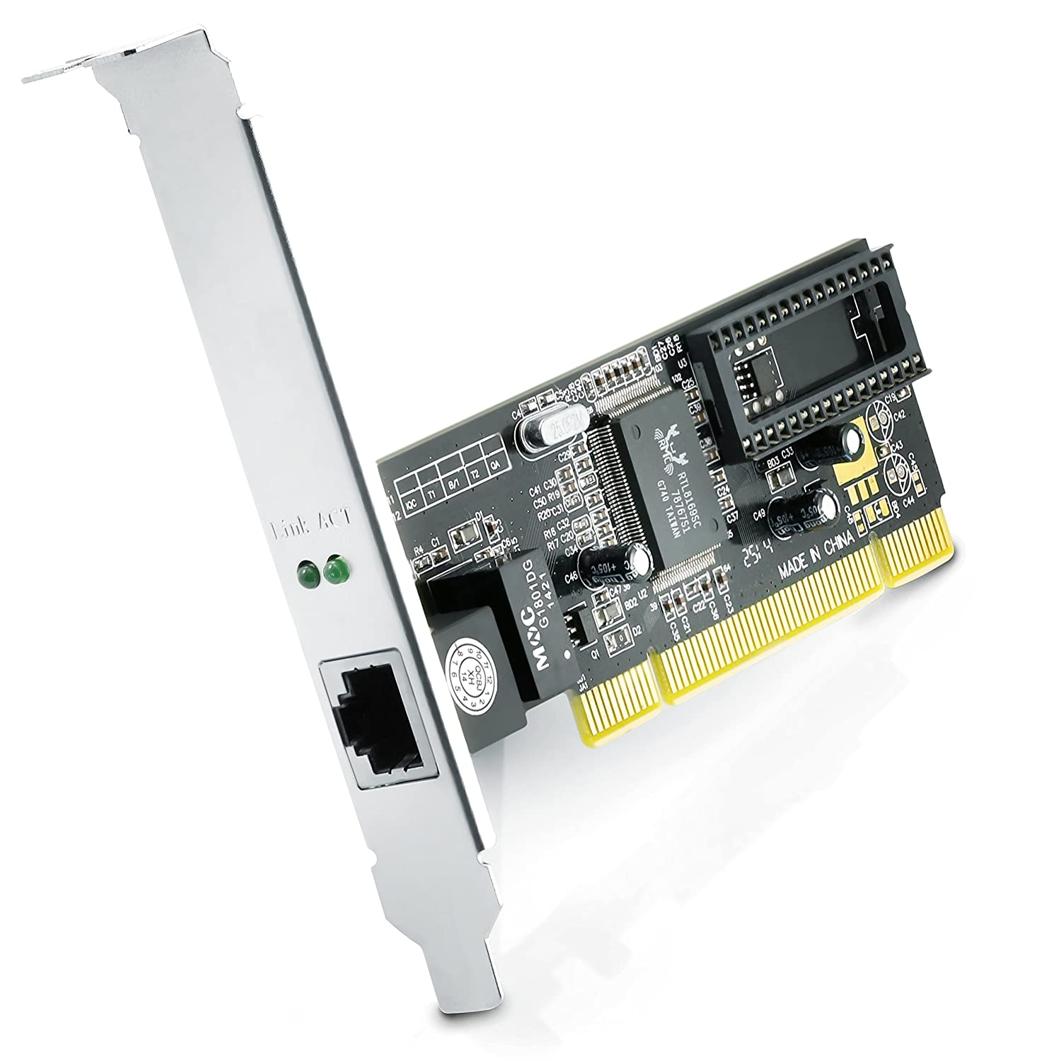 Tp Link Tg 3468 Gigabit Pci Express Network Adapter Green Amazon Csl Lan Card Fast Ethernet 10 100 1000