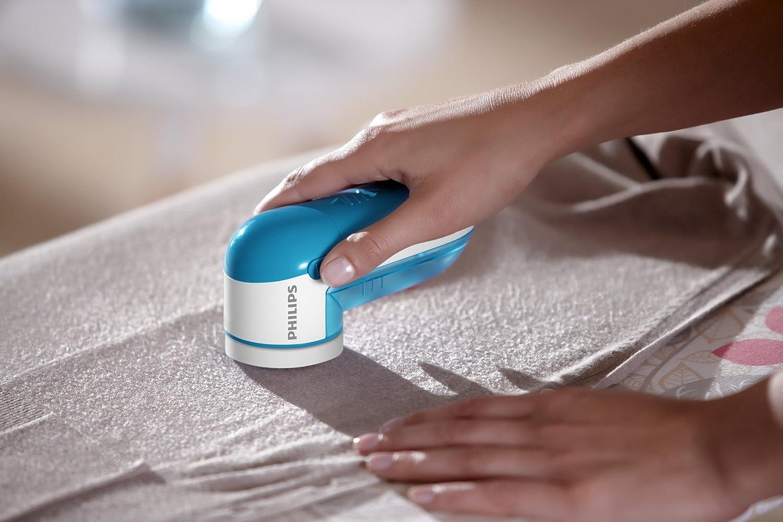 Philips Fabric Shaver - Blue, GC026/00 Blue