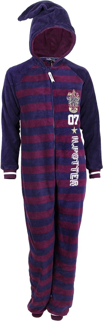 Einteiliger Schlafanzug Hufflepuff Harry Potter
