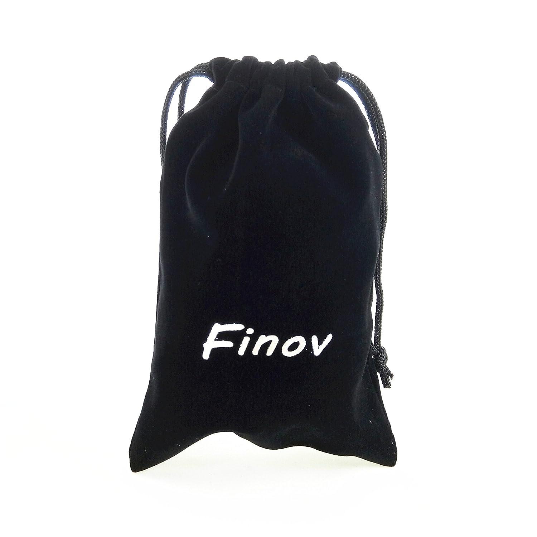 Pack of 5 XL, Inner 0.83 Round Eye Finov Nickle Plated Swivel Round Eye Bolt Snap Hooks