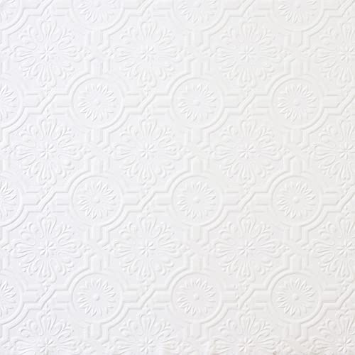 Brewster Wall Pops Floral In Geometrics Paintable Wallpaper 205 Inch X 33 Feet