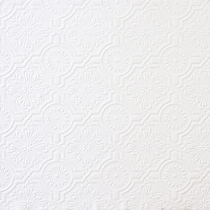 Bon Brewster 148 32817 Paintable Solutions III Victorian Tin Ceiling Paintable  Wallpaper