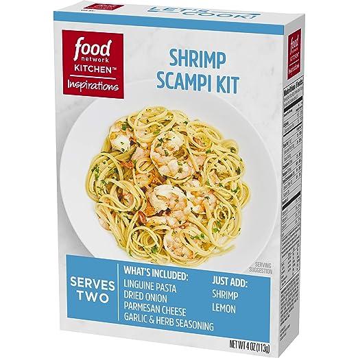 Amazon Food Network Kitchen Inspirations Shrimp Scampi Kit 4