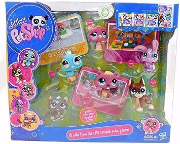 Amazon.es: Littlest Pet Shop 6 Pack Video Game Pets by Littlest ...