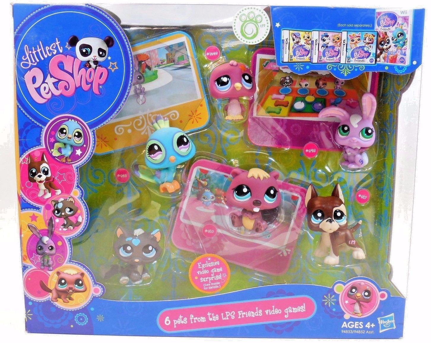 Hasbro 94853 Littlest Pet Shop Poup E Jeu Vid O De Lps 6