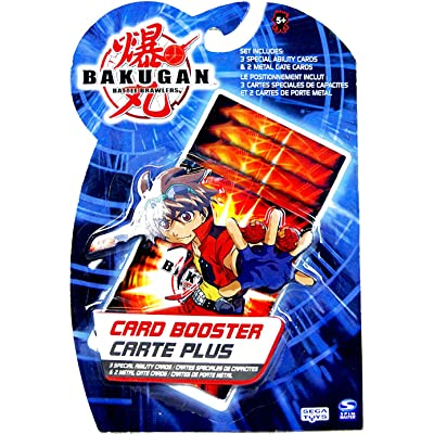 Bakugan 5 Piece Booster Card Pack: Toys & Games
