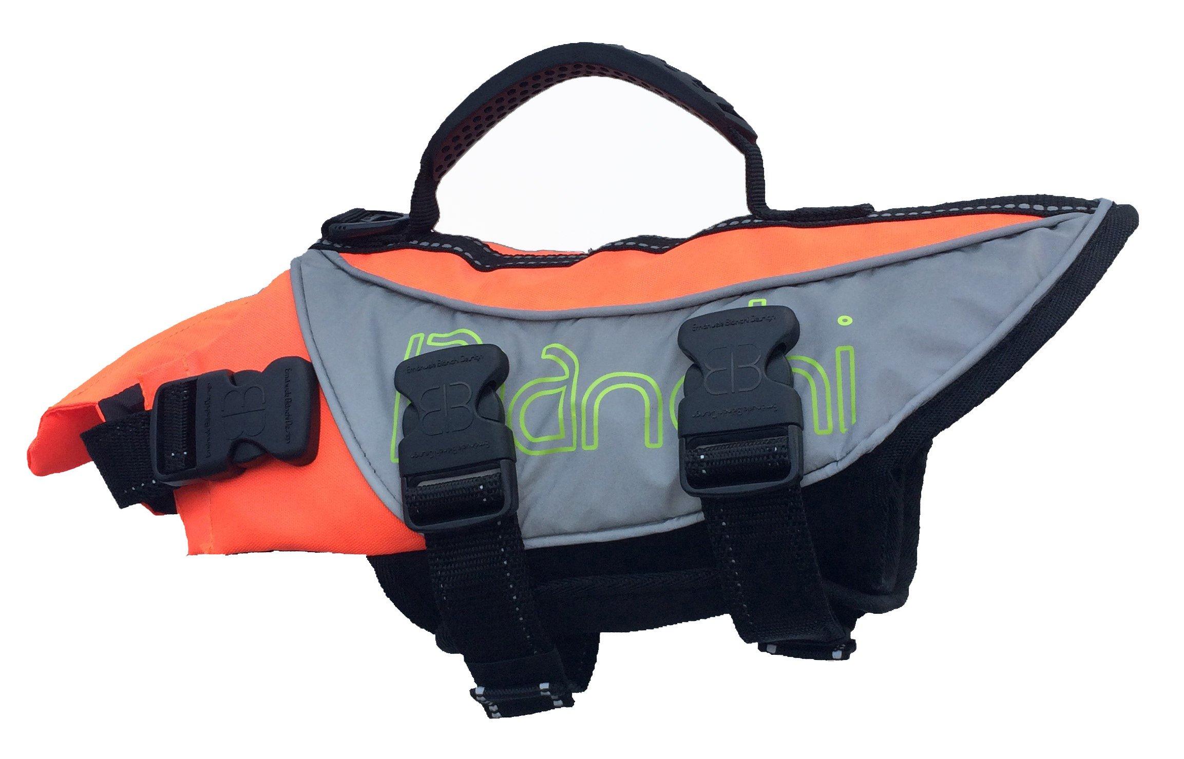 Petego Salty Dog Pet Life Vest, X-Large, Fits Girth 42 to 52-Inch, Orange