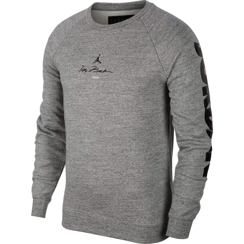 167e16a199e1 Jordan Nike Mens Air Retro 11 Fleece Crew Sweatshirt at Amazon Men s  Clothing store