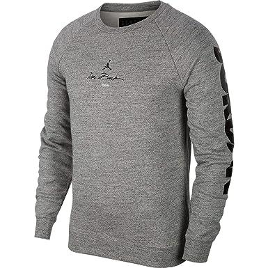 96b5eac01a Jordan Nike Mens Air Retro 11 Fleece Crew Sweatshirt at Amazon Men s  Clothing store